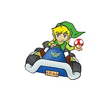 Mario Kart: Toon Link Photographic Print