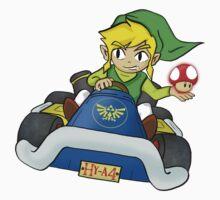 Mario Kart: Toon Link Kids Clothes