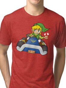 Mario Kart: Toon Link Tri-blend T-Shirt