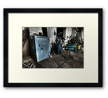 Railway Safe-ty Framed Print