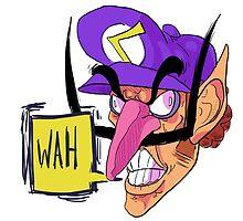 WAH (Waluigi) by Brent Koehler