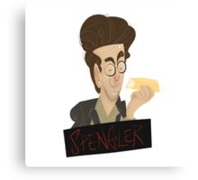 Ghostbusters: Spengler Caricature  Canvas Print
