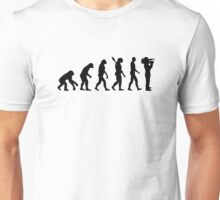 Evolution Cameraman Unisex T-Shirt