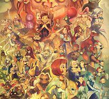 Majora's Mask 3D (Legend of Zelda) by Lunaros