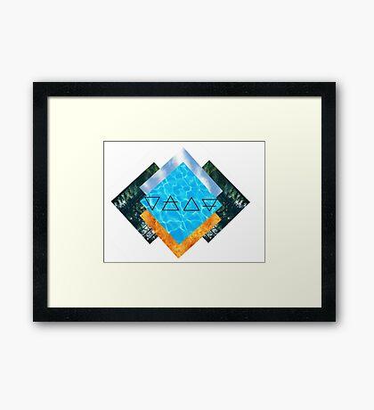 /W/A/F/E/ Framed Print