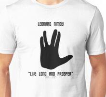 Leonard Nimoy Tribute Unisex T-Shirt