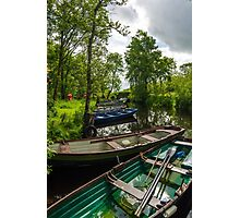 Boats in Lough Leane Photographic Print