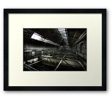 Filtration Tanks Framed Print