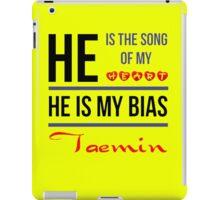 HE IS MY BIAS Taemin - Yellow iPad Case/Skin