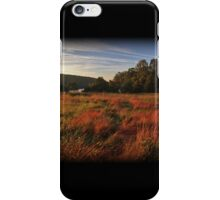 Fall Morning Golden Hour iPhone Case/Skin