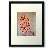 yesterday I was a young man Framed Print
