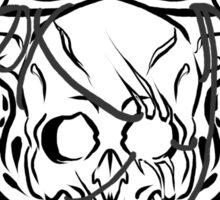 the iron bull romance tattoo  Sticker