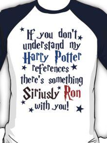 Harry Potter references - light shirt T-Shirt