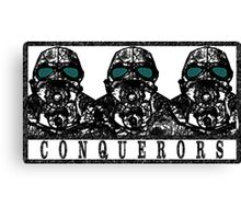 Conquerors Canvas Print