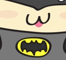Moka's Adventures - Moka as Batman Sticker