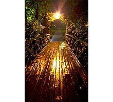 Kissing Bridge Photographic Print