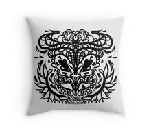 vivienne companion tattoo  Throw Pillow