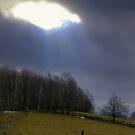 Eye in the Sky..... He's watching... by Larry Llewellyn
