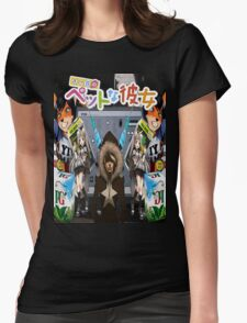 ASBO Girl of Sakurasou Vol. 1 Cover Womens Fitted T-Shirt