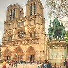 Notre Dame Cathedral ... a grand view by Michael Matthews