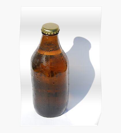Cold Bottle of Beer Poster