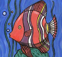 Big Fish by Roz Abellera Art Gallery