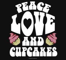 Peace, Love and Cupcakes 60's Style by Albany Retro