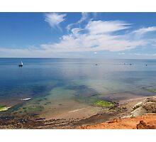Port Noarlunga ocean view Photographic Print