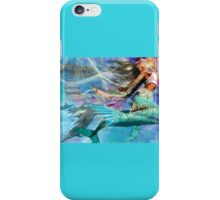 mermaid portal iPhone Case/Skin
