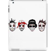RIP MCs - Gangsta Rapper Sugar Skulls iPad Case/Skin