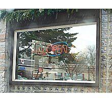 Window Reflections Photographic Print