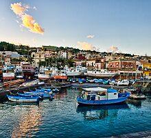 Port of Acitrezza by Andrea Rapisarda