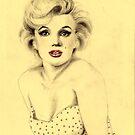 Marilyn Monroe by Elisabete Nascimento
