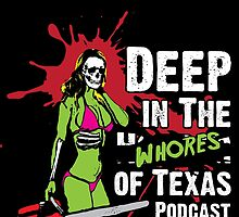 Deep in the wHorror of Texas Chainsaw Girl by Aaron Garcia