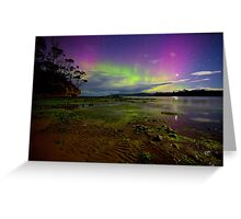 Randalls Bay Aurora Tasmania #16 Greeting Card