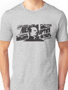 Lenin Soviet CCCP Propaganda Unisex T-Shirt