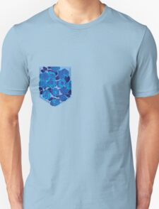 Floral Pattern Pocket 2 T-Shirt