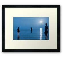 Gormley Trio Framed Print