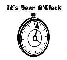Iskybibblle Products/ Beer o'clock Photographic Print