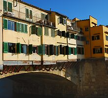 Ponte Vecchio, Florence by jojobob