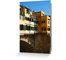 Ponte Vecchio, Florence Greeting Card