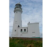 Flamborough Lighthouse, East Yorkshire, England Photographic Print