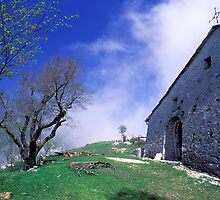 ALONG LIGURIA PILGRIM WAYs S Pietrino church by Enrico Pelos