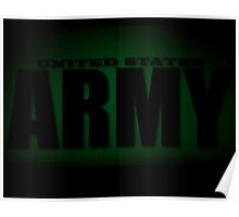 Dark US Army iPhone / Samsung Galaxy Case Poster