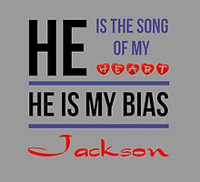 HE IS MY BIAS JACKSON - Grey by Kpop Seoul Shop
