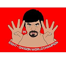 Manny Pacquiao - Eight-Division World Champion Photographic Print