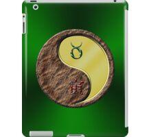 Taurus & Tiger Yang Metal iPad Case/Skin