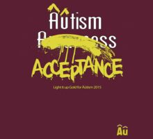 Âûtism Acceptance T-Shirt