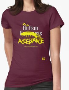 Âûtism Acceptance Womens Fitted T-Shirt