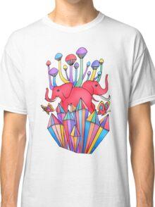Pink Elephants Classic T-Shirt